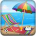 布置度假沙滩