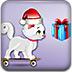 圣诞猫收礼物