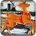圣诞老人驾驯鹿