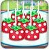 制作草莓棒棒糖