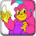顽皮的猴子填颜色小游戏