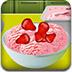 跟莎拉学做草莓冰激凌