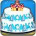 冰雪城堡蛋糕
