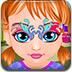 安娜宝贝的面部彩绘小游戏