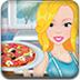 芭比制作美味披萨