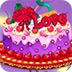 幸福的婚礼蛋糕