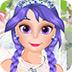 美丽的公主婚纱