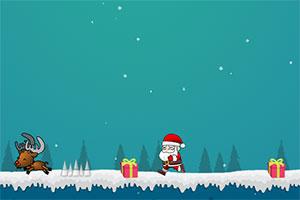圣诞老人跳跳跳在线玩