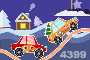冬天汽车比赛直接玩