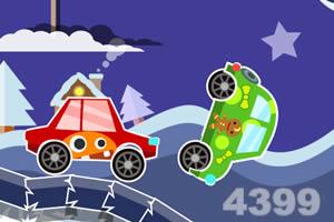 冬天汽车比赛马上玩