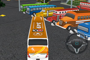 Jogo Bus Parking World 2 Online Gratis