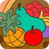 水果聚��盆上色