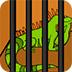救援绿鬣蜥
