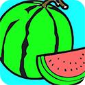 夏季水果图画册