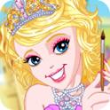 俏皮樱花公主