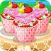 朵拉制作�杯蛋糕