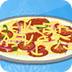 芭比制作披萨