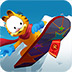 加菲�滑雪
