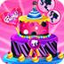 芭比制作生日蛋糕