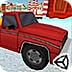 红色卡车圣诞节送礼