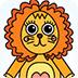 卡通动物图画册