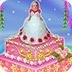 芭比的花卉蛋糕
