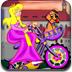 贝拉公主骑单车